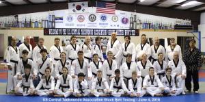 USCTA Black Belt Testing Jun 4, 2016