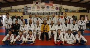 December 2014 Black Belt Promotion Test